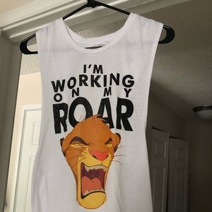 Wet Seal Tops - Lion King Tank Top